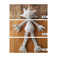 Edward Fantáziabirodalma - figura horgolós könyv - Kerry Lord - 04