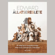 Edward Állatsereglete - figura horgolós könyv - Kerry Lord - 01