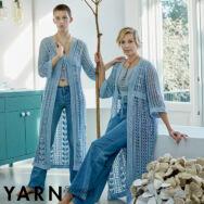 Scheepjes Yarn Magazine 11 - Macro Botanica - knitting / crochet patterns