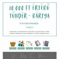 Tündér-kártya - Ajándék utalvány - 10.000 Ft értékben