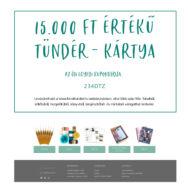 Tündér-kártya - Ajándék utalvány - 15.000 Ft értékben