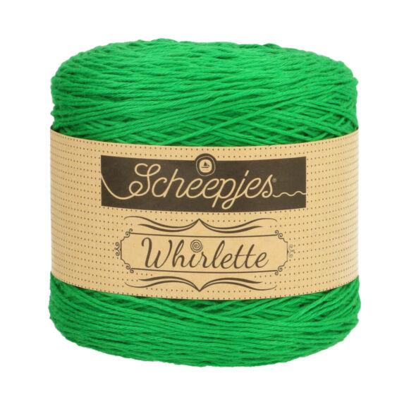 Scheepjes Whirlette 857 Kiwi - green - zöld -keverék fonal - yarn cake