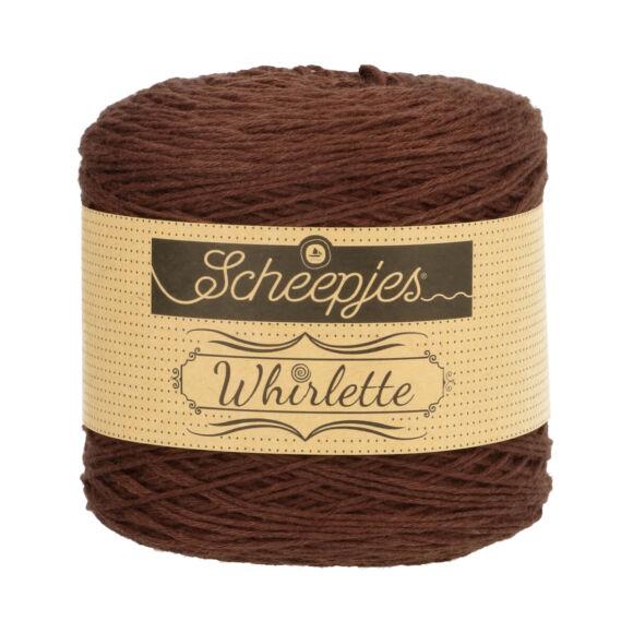 Scheepjes Whirlette 863 Chocolate - csokibarna fonal