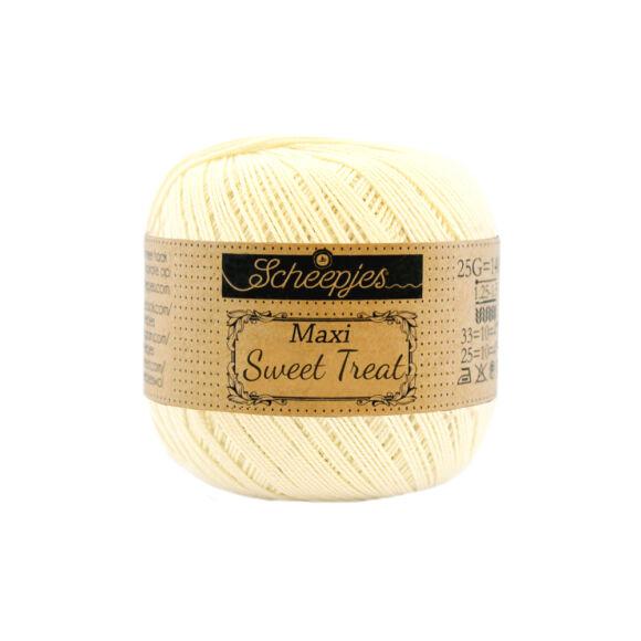 Scheepjes Maxi Sweet Treat 101 Candle Light - pamut fonal  - cotton yarn