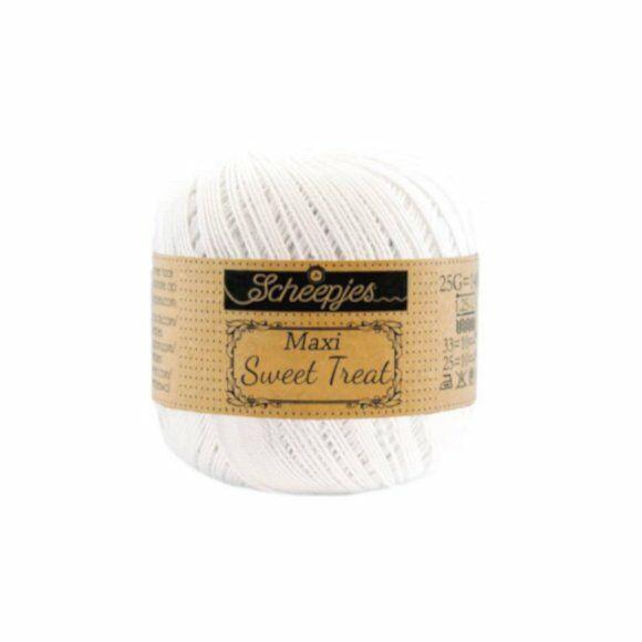 Scheepjes Maxi Sweet Treat Snow White106 - pamut fonal  - cotton yarn