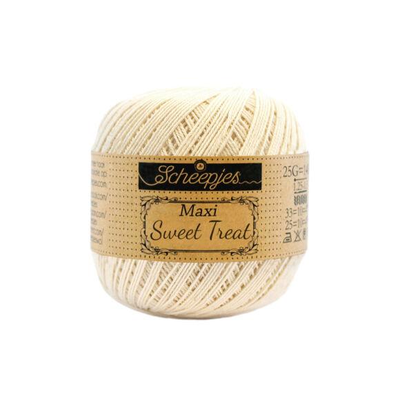 Scheepjes Maxi Sweet Treat 130 Old Lace - csipkefehér pamut fonal