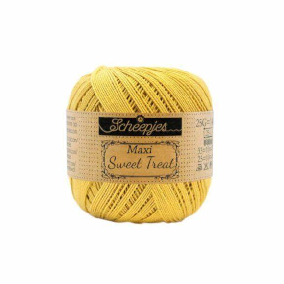 Scheepjes Maxi Sweet Treat Gold 154 - pamut fonal  - cotton yarn