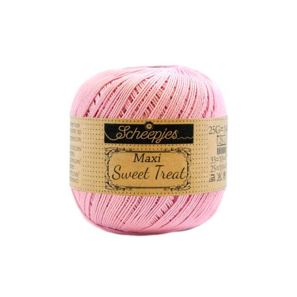 Scheepjes Maxi Sweet Treat 222 Tulip - pink pamut fonal  - pink cotton yarn