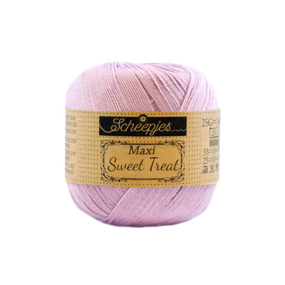 Scheepjes Maxi Sweet Treat 226 Light Orchid - orhidea lila pamut fonal