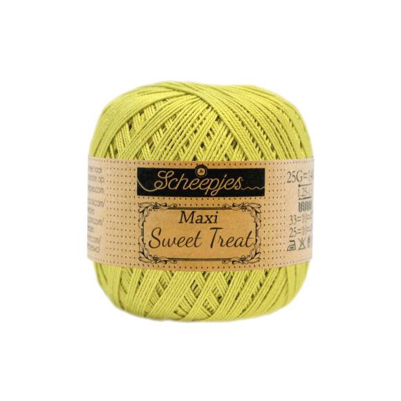 Scheepjes Maxi Sweet Treat 245 Green Yellow - sárgászöld pamut fonal  - cotton yarn