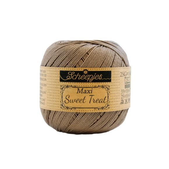 Scheepjes Maxi Sweet Treat 254 Moon Rock - barnás szürke pamut fonal