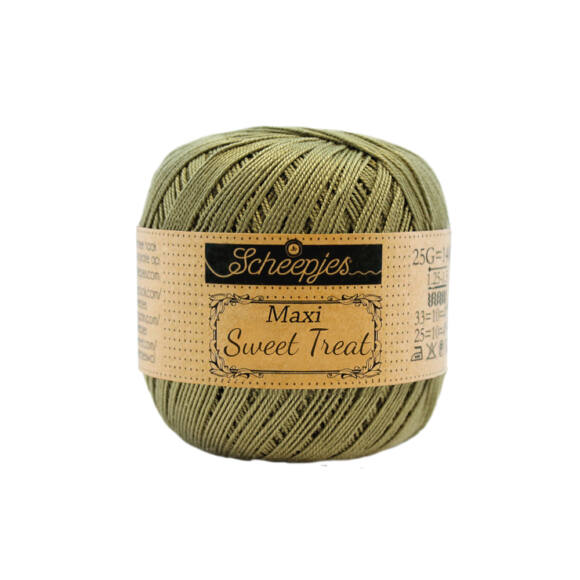 Scheepjes Maxi Sweet Treat 395 Willow - mohazöld pamut fonal