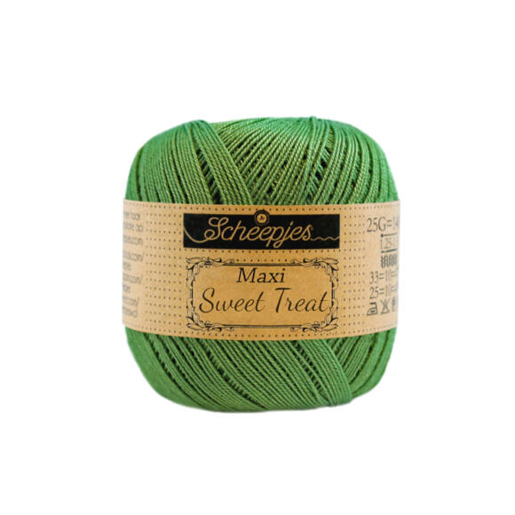 Scheepjes Maxi Sweet Treat 412 Forest Green - zöld pamut fonal
