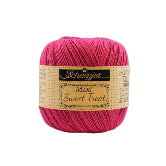 Scheepjes Maxi Sweet Treat 413 Cherry - piros pamut fonal  - cotton yarn