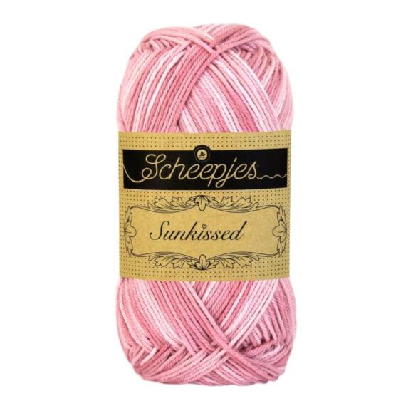 Scheepjes Sunkissed 09 Strawberry Ice - rózsaszín pamut fonal