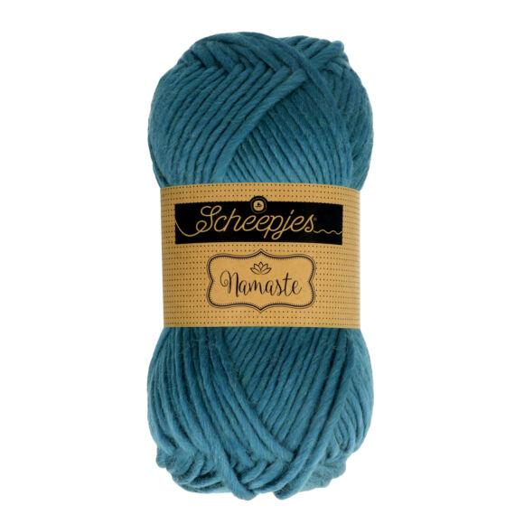 Scheepjes Namaste 629 Upward Bow - kék gyapjú fonal