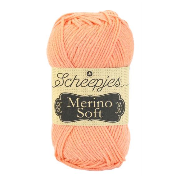 Scheepjes Merino Soft 642 Caravaggio - barack színű gyapjú fonal