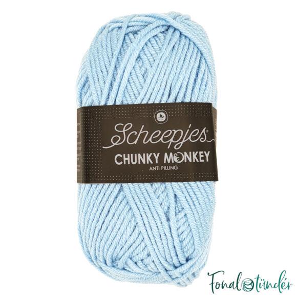 Scheepjes Chunky Monkey 1019 Powder Blue - púderkék akril fonal