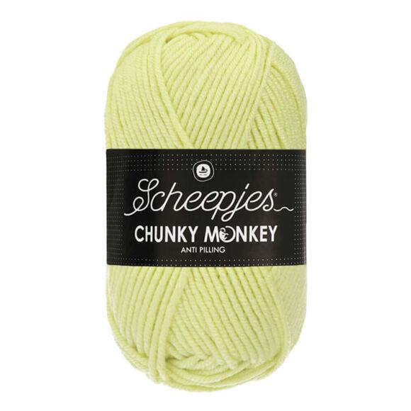 Scheepjes Chunky Monkey 1020 Mint - mentazöld akril fonal - mint-green acrylic yarn