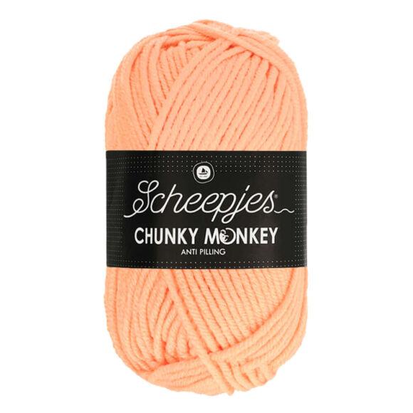 Scheepjes Chunky Monkey 1026 Peach - barack rózsaszín akril fonal - peach-pink acrylic yarn