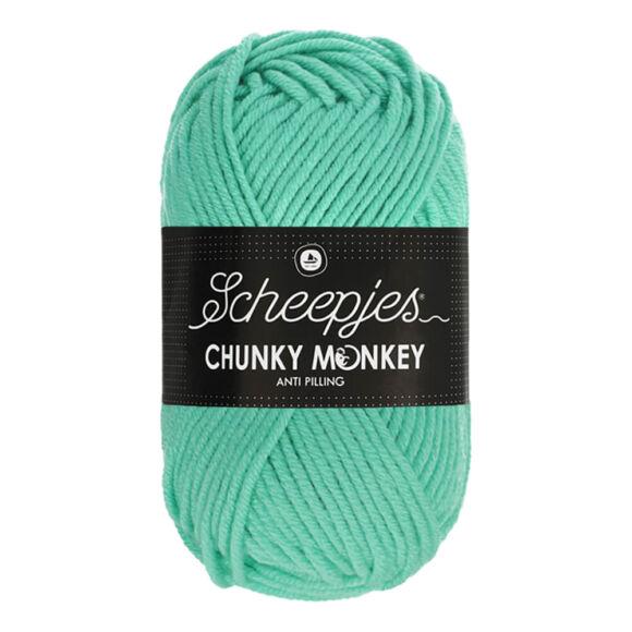 Scheepjes Chunky Monkey 1422 Aqua - türkiz akril fonal