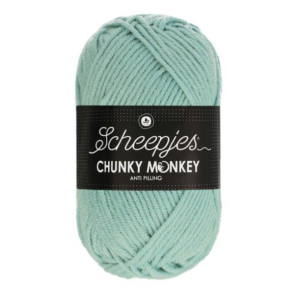 Scheepjes Chunky Monkey 1820 Mist - halvány kék akril fonal