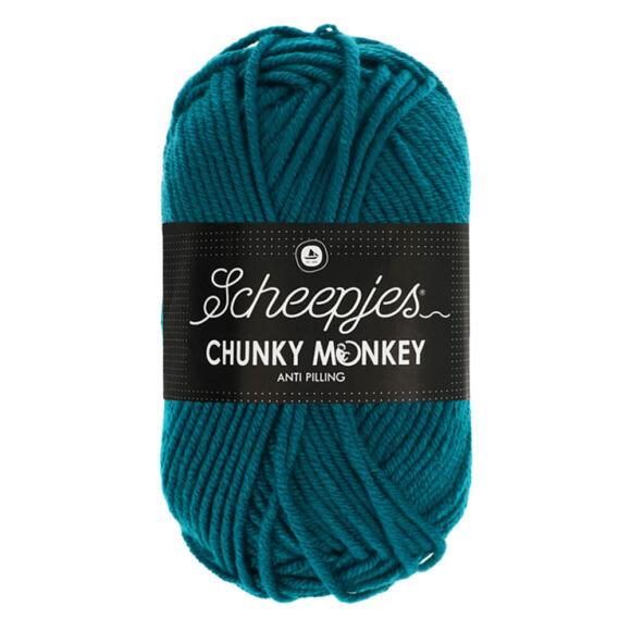 Scheepjes Chunky Monkey 1829 Teal - zöldes-kék akril fonal - turquoise acrylic yarn