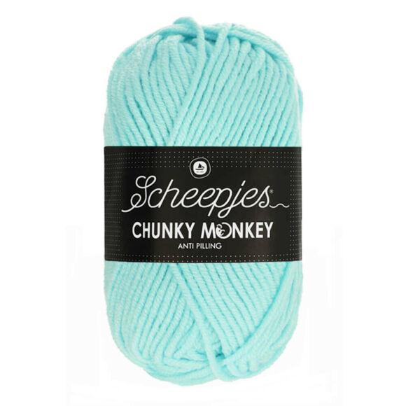 Scheepjes Chunky Monkey 1034 Baby Blue - világoskék akril fonal