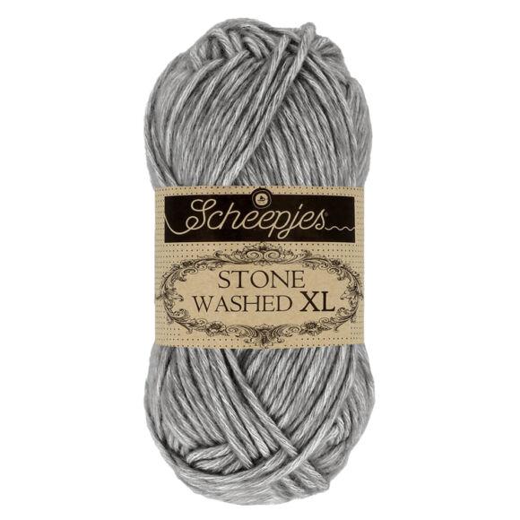 Scheepjes Stone Washed XL 842 Smoky Quartz - kvarc-szürke fonal