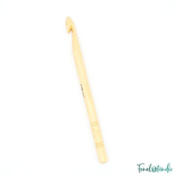 knitpro bamboo - horgolótű - crochet hook - 9mm