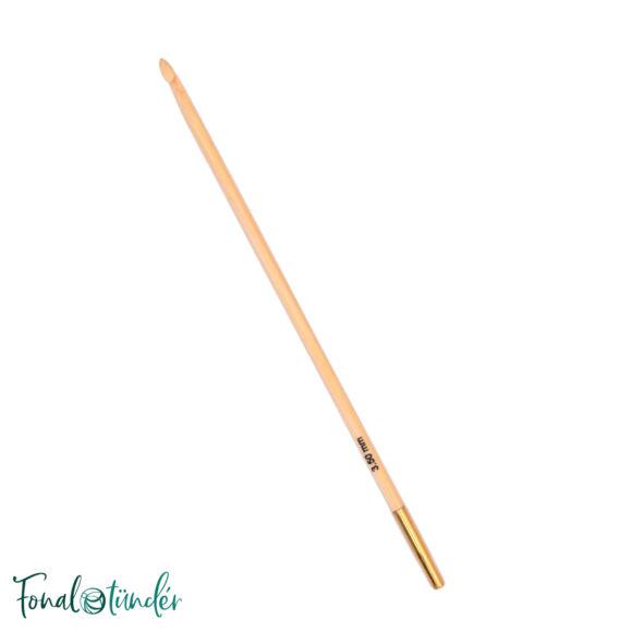 KnitPro Bamboo - tuniszi horgolótű - 3.5mm