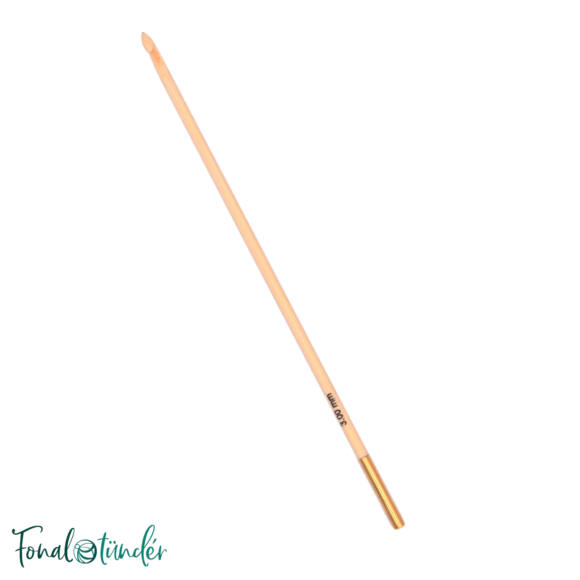 KnitPro Bamboo - tuniszi horgolótű - 3mm
