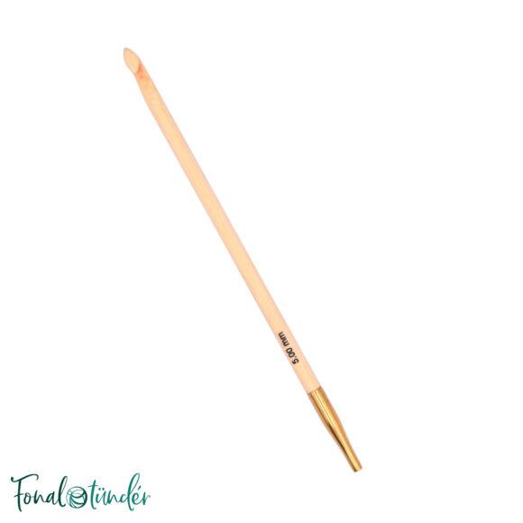 KnitPro Bamboo - tuniszi horgolótű - 5mm