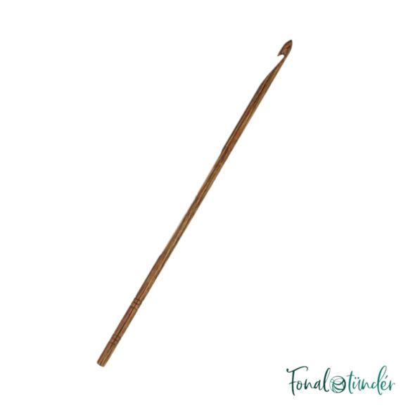 KnitPro Ginger - nemesfa horgolótű - wooden crochet hook - 4mm