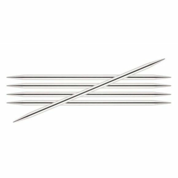 KnitPro Nova Metal - zoknikötőtű - knitting needle - 10cm - 4mm