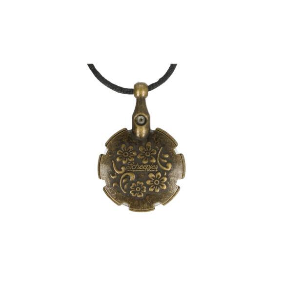 Scheepjes - fonalvágó nyakék - bronz nikkel