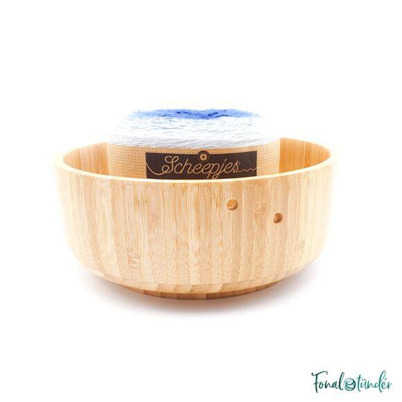 Bambusz Fonaltartó Tál - Bamboo Yarn Bowl - 19cm