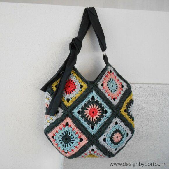 Boho Bag - Bohém táska  - horgolás minta