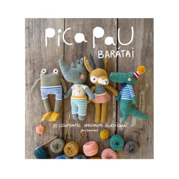 Pica Pau barátai - amigurumi horgolós könyv