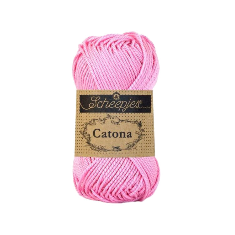 Scheepjes Catona Tulip 222 - pamut fonal  - cotton yarn