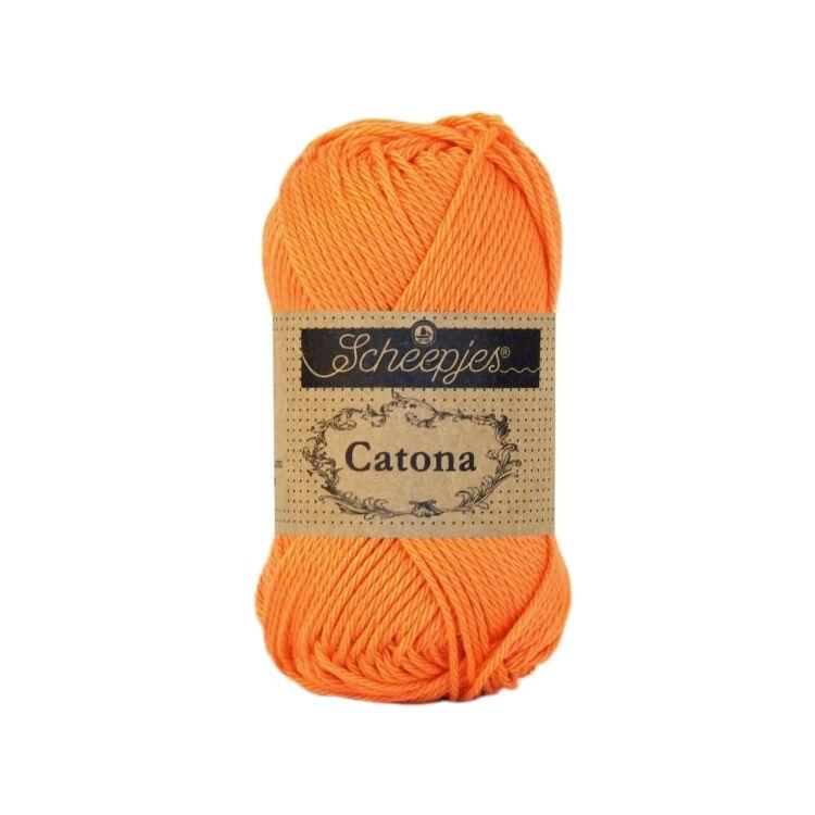 Scheepjes Catona 386 Peach - pamut fonal  - cotton yarn