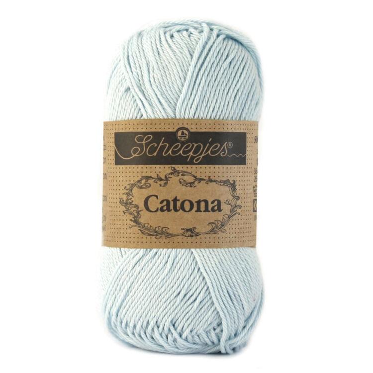 Scheepjes Catona 509 Baby Blue - babakék - pamut fonal  - cotton yarn