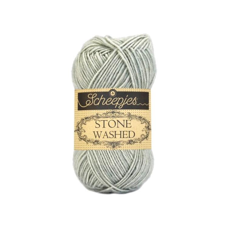 Scheepjes Stone Washed 814 Crystal Quartz - pamut fonal - cotton yarn