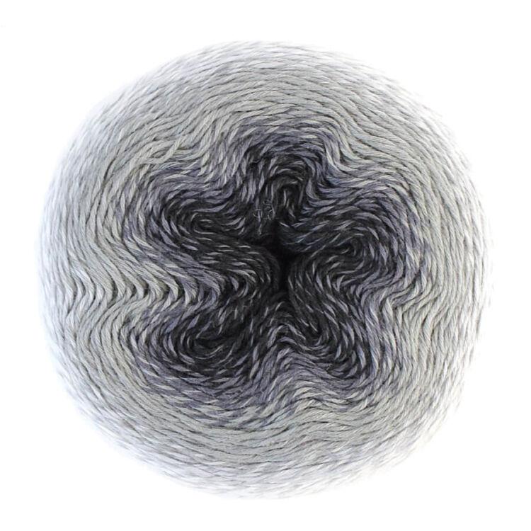 Scheepjes Whirl 751 Liquorice Yumyum - keverék fonal - yarn cake