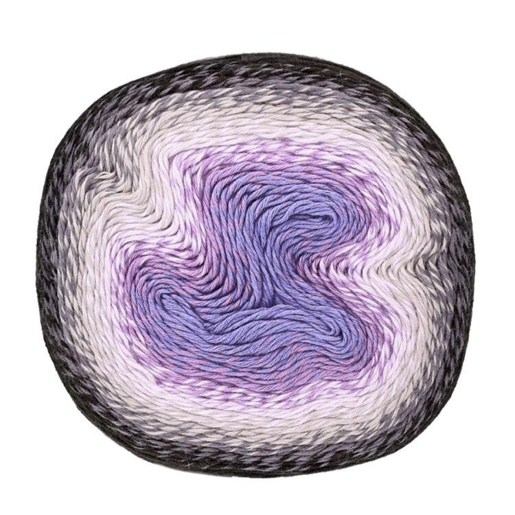 Scheepjes Whirl 786 Dark Grape Squish - keverék fonal - yarn cake
