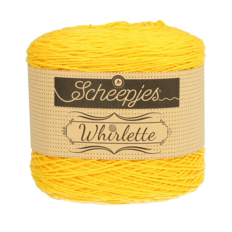 Scheepjes Whirlette 858 Banana - yellow - sárga - keverék fonal - yarn cake