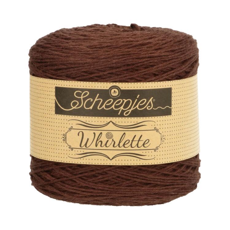Scheepjes Whirlette 863 Chocolate - brown - barna - keverék fonal - yarn cake