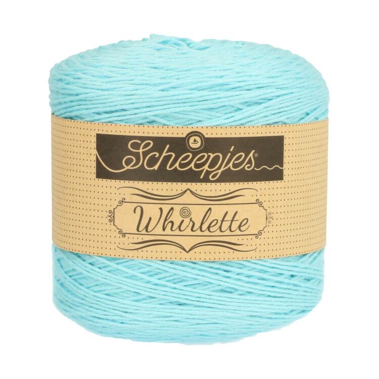 Scheepjes Whirlette 866 Bubble - blue - kék - keverék fonal - yarn cake