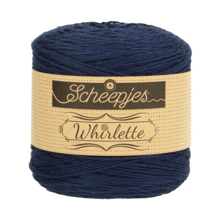 Scheepjes Whirlette 868 Bilberry - blue - kék - keverék fonal - yarn cake