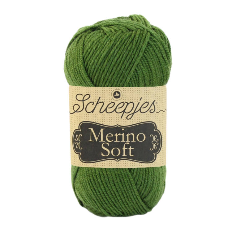 Scheepjes Merino Soft 627 Manet - mélyzöld gyapjú fonal - deep-green yarn blend
